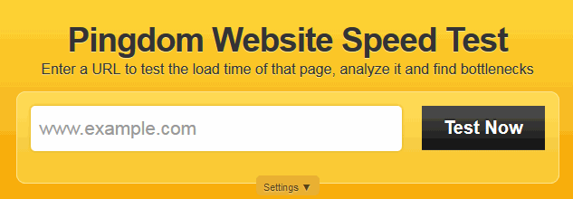 Try Pingdom's great speed checker to find out if your website hosting is faster or slower than other sites on the internet.